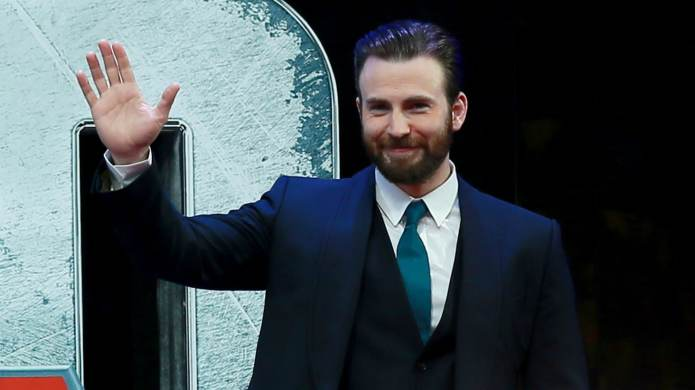Chris Evans Reuniting With His Beloved
