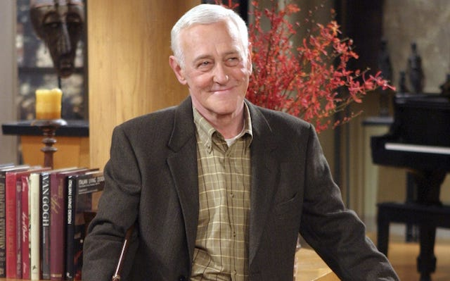 Still of John Mahoney as Martin Crane on 'Frasier'