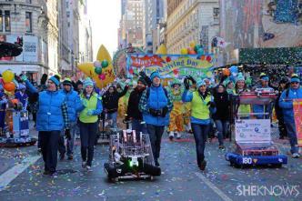 INTERVIEW: Robots kick-start Macy's Thanksgiving Day