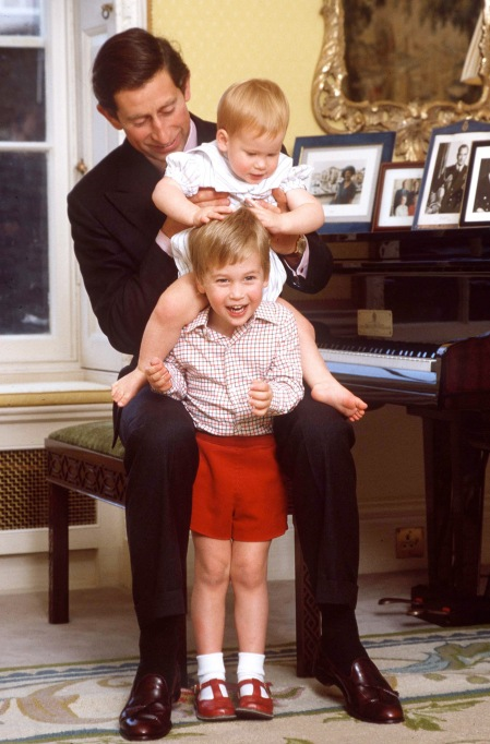 Prince William and Prince Harry baby pictures