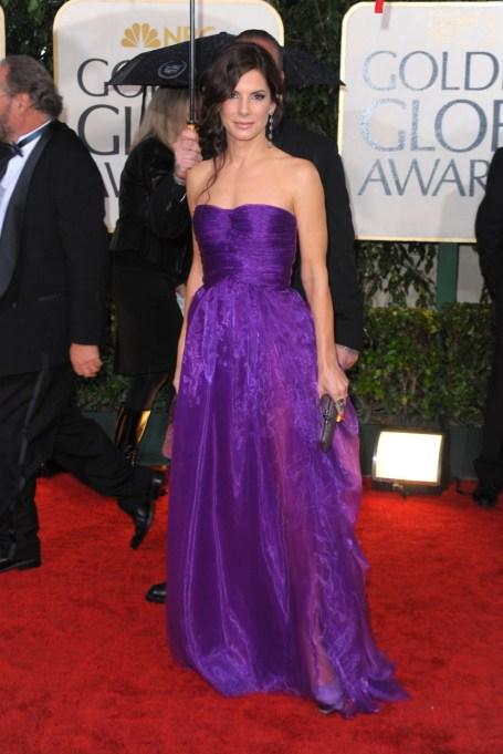 Ultra Violet On The Red Carpet | Sandra Bullock