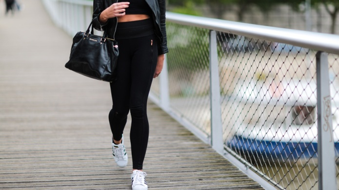13 Pairs of Black Leggings to