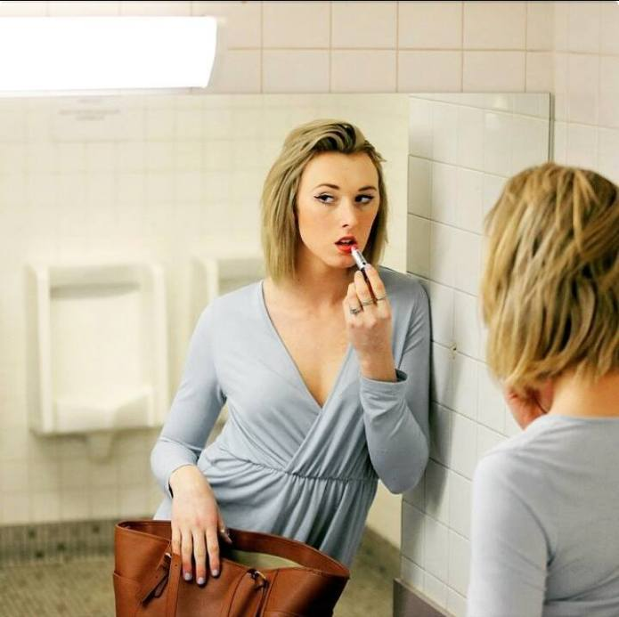 New selfie campaign combats anti-trans restroom