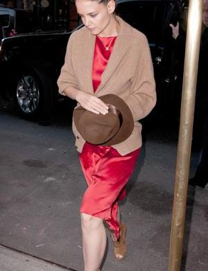Friday's Fashion Fails: Katie Holmes and