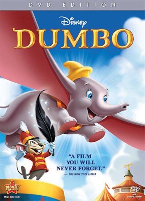 'Dumbo' DVD art