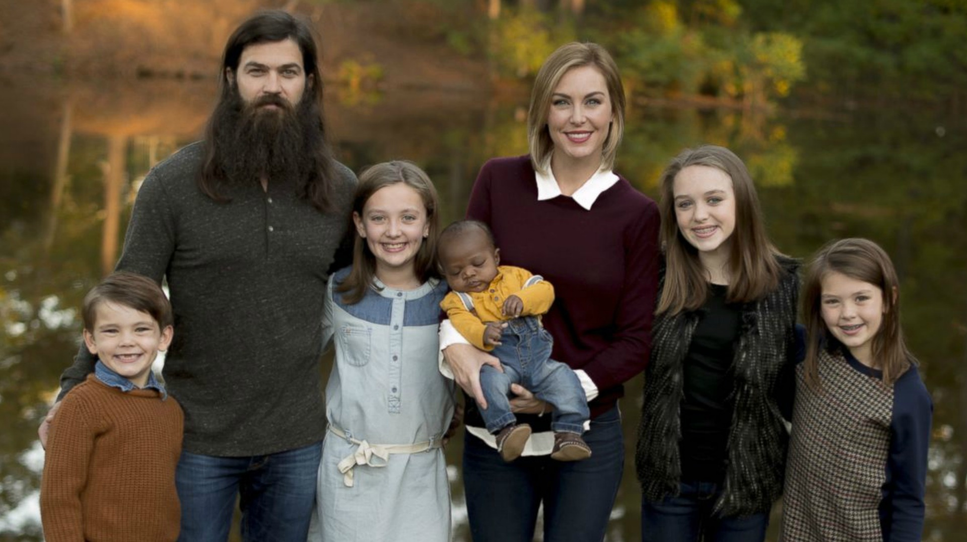 Duck Dynastys Jep And Jessica Robertson Debut Their Adopted Son