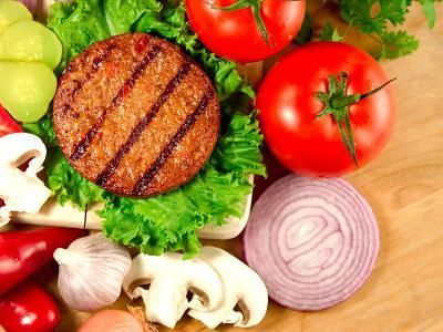 Quick Eggplant Burgers