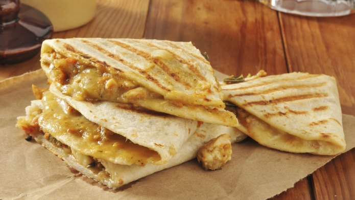 Fast chicken and cheese quesadilla recipes
