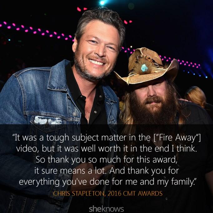 Chris Stapleton and Blake Shelton 2016 CMT Awards