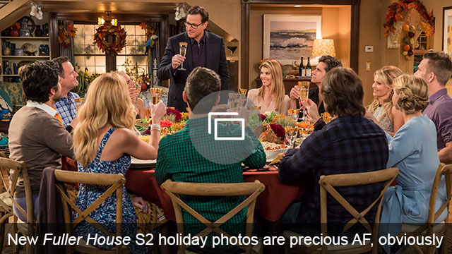 Fuller House S2 holiday photo
