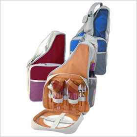 picnic backpack for two