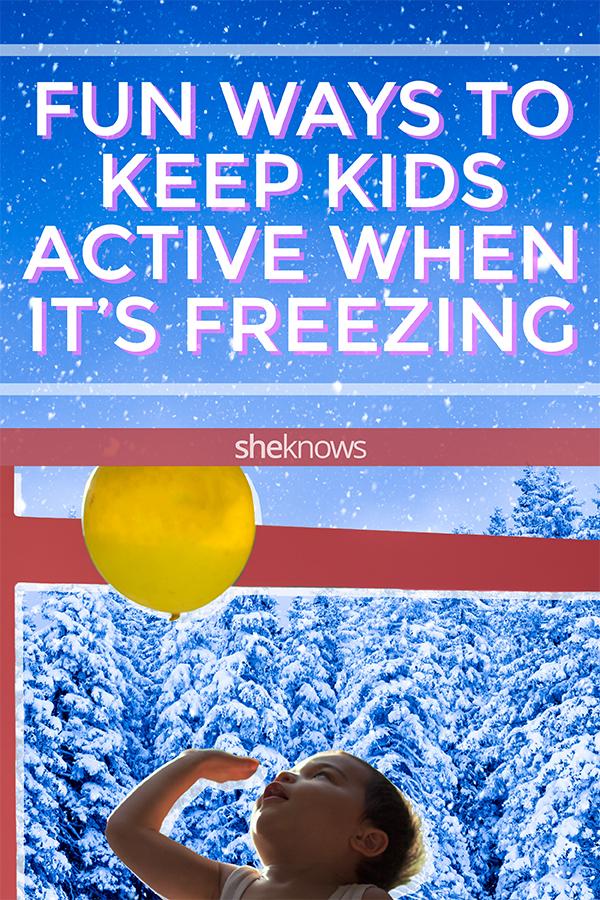 Fun kids activities for indoor winter exercise