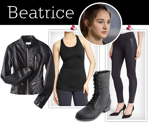 Dress like a Divergent: Beatrice