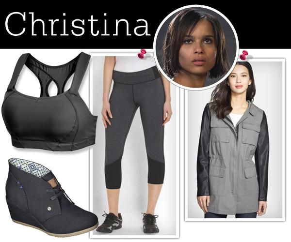 Dress like a Divergent: Christina