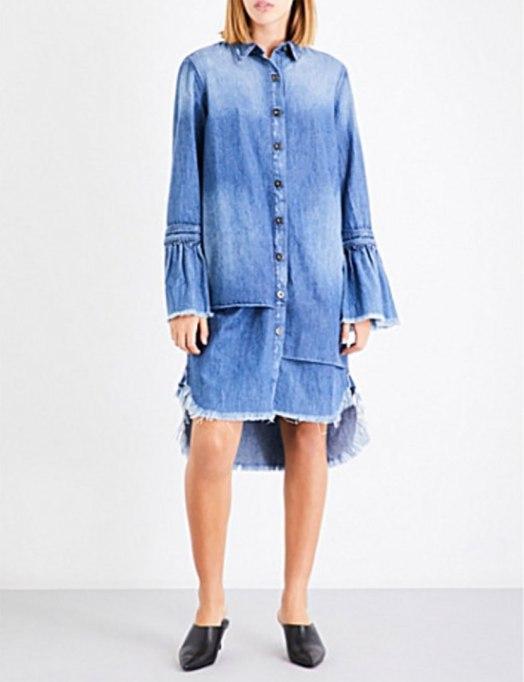 Cool Denim For Fall: Cecil Denim Shirt | Fall Fashion 2017