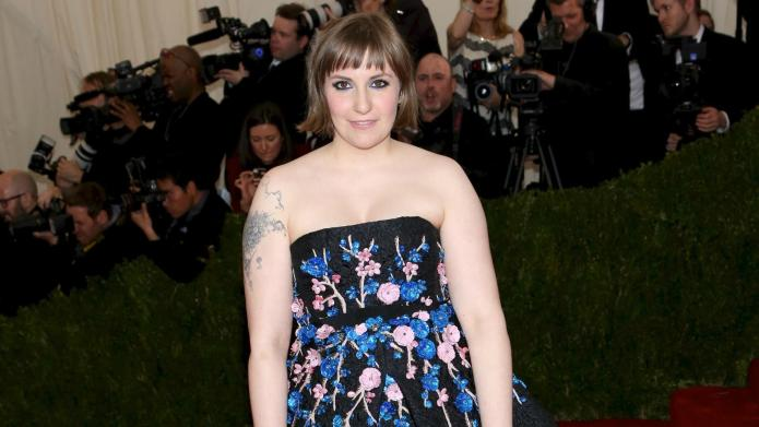 PHOTO: Lena Dunham's dog is a