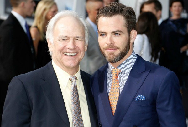 Celebrities with famous fathers: Chris Pine & Robert Pine