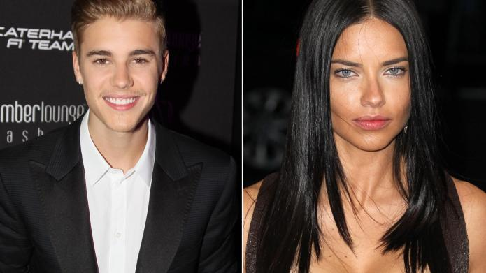 Justin Bieber hooking up with Adriana