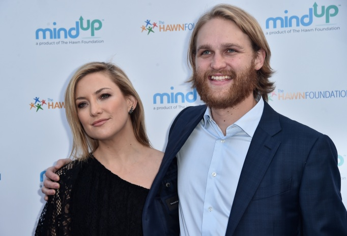 Kate Hudson and Wyatt Russell