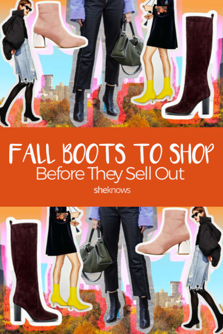Pin it! 25 Pairs of Fall Boots to Shop Before They Sell Out