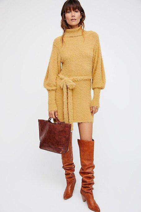 Must-Have Long Sleeve Dresses   Honey Mini Dress