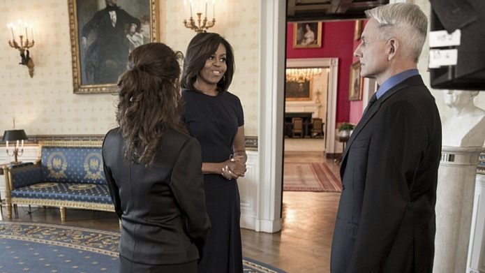 NCIS episode featuring Michelle Obama will