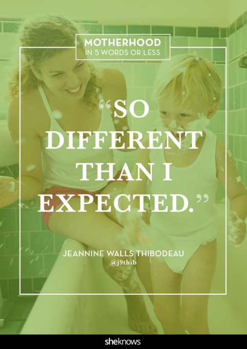 Motherhood quote