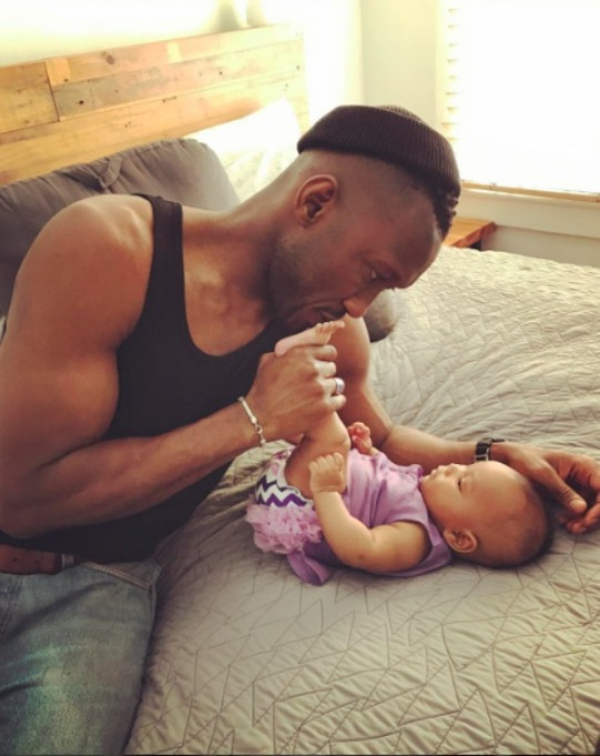 Celebrities' first Father's Day - Mahershala Ali