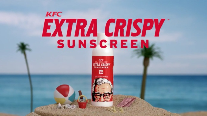 KFC's fried chicken-scented sunscreen: We can