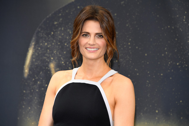 Stana Katic from 'Absentia' attends a photocall during the 57th Monte Carlo TV Festival: Day 2