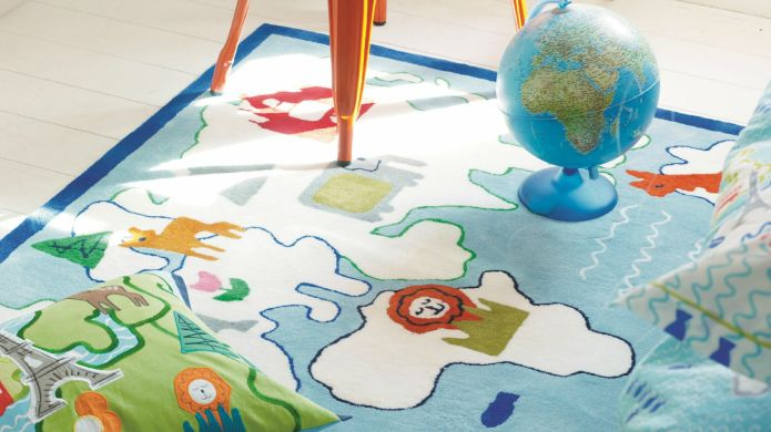 20 Family-friendly rugs your kids will