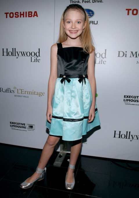 Dakota Fanning at the 5th Annual Breakthrough of the Year Awards