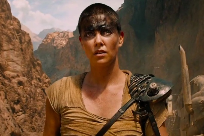 Charlize Theron in 'Mad Max'