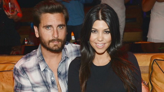 Kourtney Kardashian and Scott Disick through