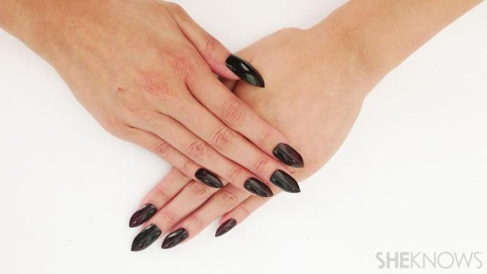 DIY stiletto nails without acrylic
