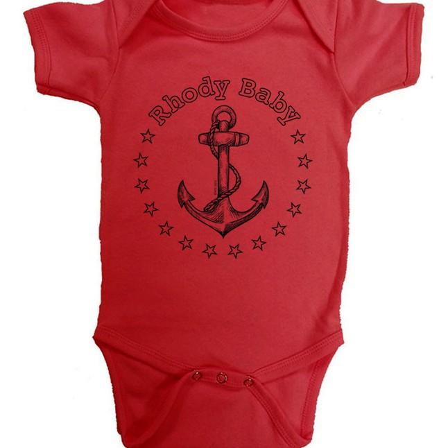 Rhode Island Baby Onesie