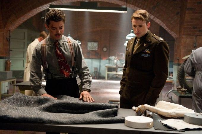 Howard Stark in Captain America: The First Avenger