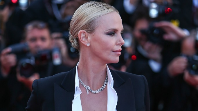 Charlize Theron unexpected delivery