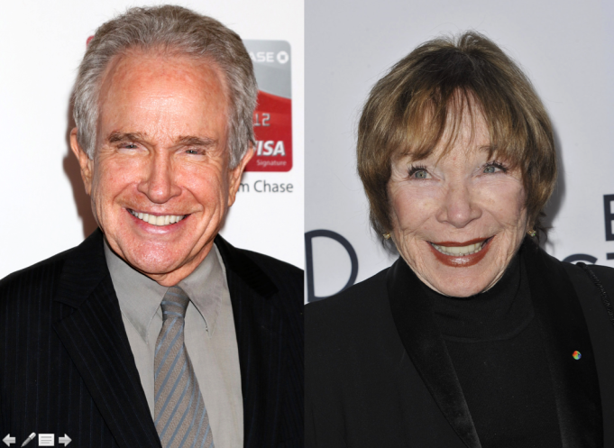Hollywood's most talented siblings: Warren Beatty and Shirley MacLaine