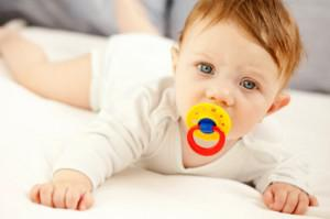 What's growing on your baby's pacifier?
