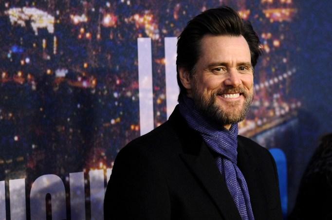 Jim Carrey Golden Globes