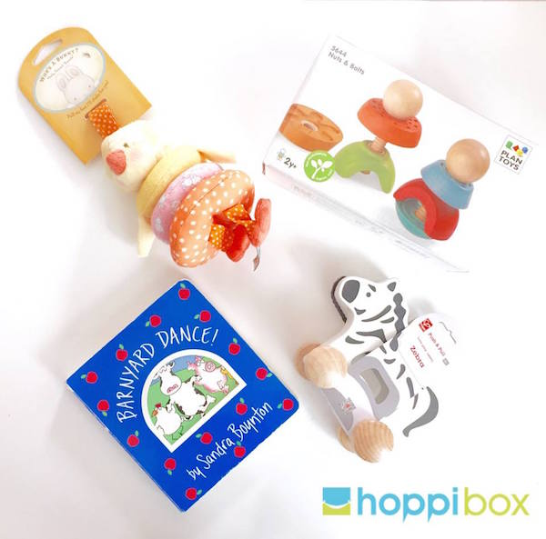 Best baby subscription boxes: Hoppi Box