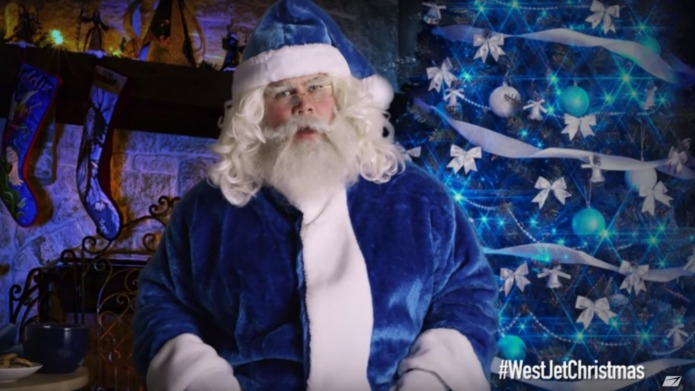 WestJet captures the spirit of the