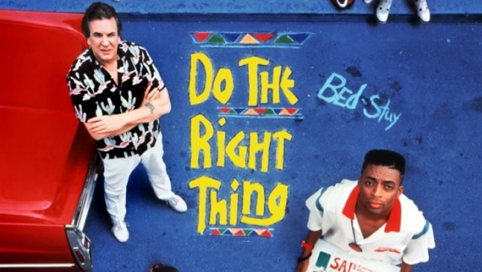 Movie poster for 'Do the Right Thing'