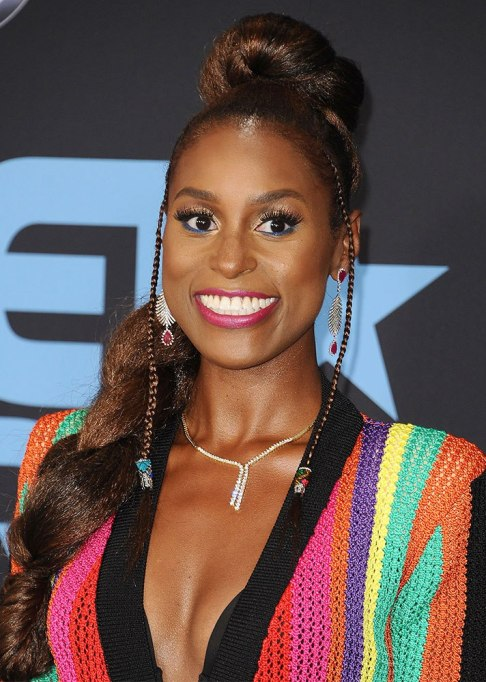 Best Celebrity Braids: Issa Rae | Celeb Hair Inspo 2017