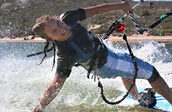 Get fit with kiteboarding
