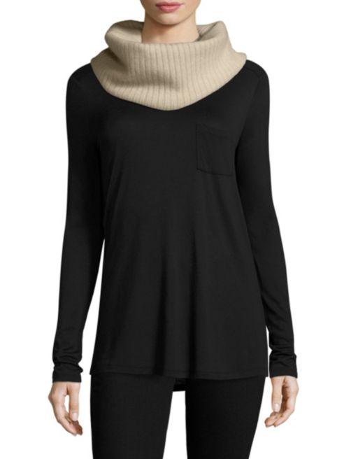 Ways to Wear an Infinity Scarf | Portolano cashmere snood round scarf