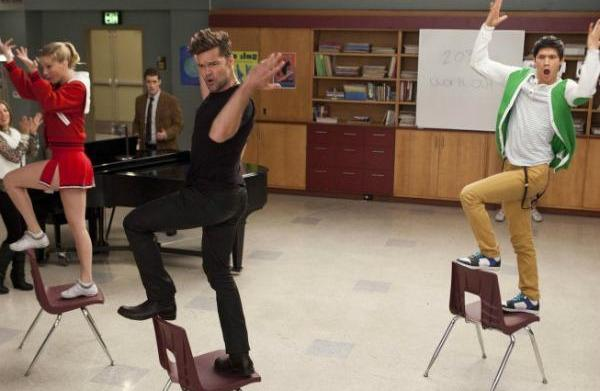 Glee recap: Muy caliente, Ricky Martin!