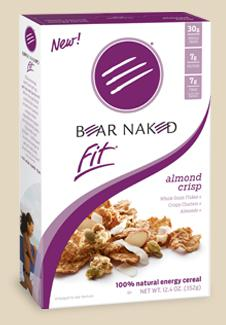 Bear Naked launches fitness cereal
