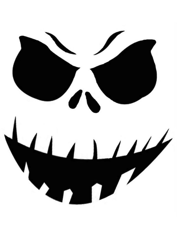 photo regarding Printable Ghost Faces known as Pumpkin-Carving Templates Galore for Your Perfect Jack-o